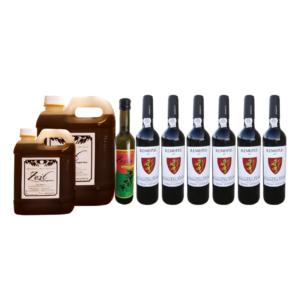 Cabaz de Natal - Reservas & Azerite | Viva o Vinho