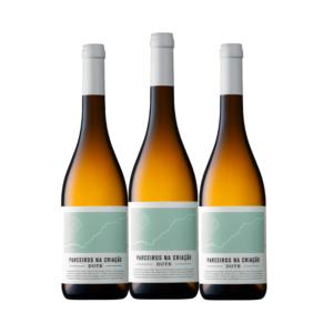 PNC - Parceiros Na Criação DOTE branco 2018 Caixa 3 garrafas| VivaoVinho.Shop