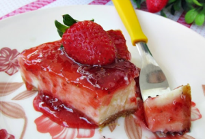 Receita Cheesecake de morango | VivaoVinho.Shop