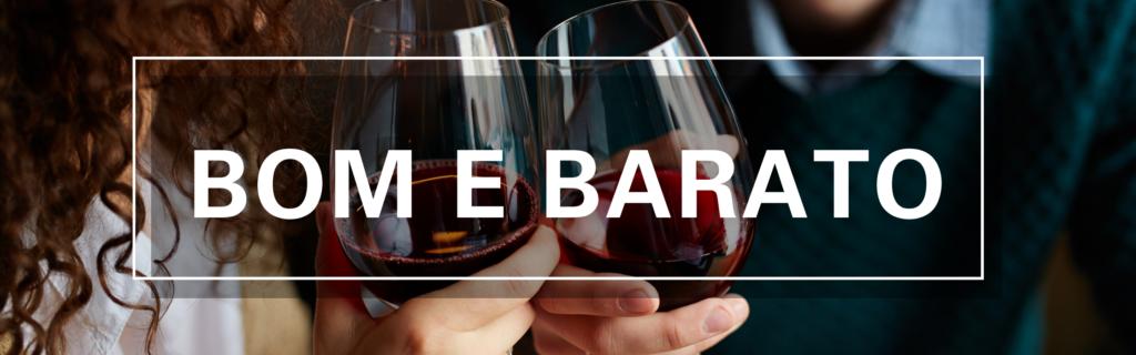 banners página especial vinho Bom e barato